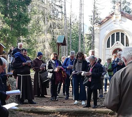 Volontari in … Via Crucis