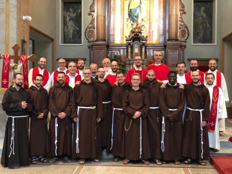 Vestizione di 10 novizi a Tortona